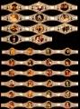 Serie Vitolas Washington. Historia Pintura 41/52. 288 Vitolas