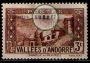 Serie de sellos Andorra Francesa nº 0026 (*)