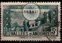 Serie de sellos Andorra Francesa nº 0027 (o)