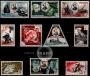 Serie de sellos Mónaco nº 0427/36 (**)