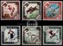 Serie de sellos Mónaco nº 0532/37 (**)