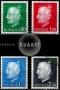 Serie de sellos Mónaco nº 1079/82 (**)