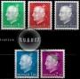 Serie de sellos Mónaco nº 1209/13 (**)