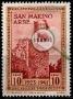 Serie de sellos San Marino nº 0211 (*)