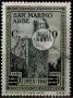 Serie de sellos San Marino nº 0222 (*)