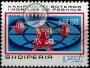 Serie de sellos Albania deportes Nº 1475 (o)