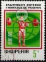 Serie de sellos Albania deportes Nº 1471 (o)