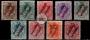 Serie de sellos Tánger español nº 001/9 (**)