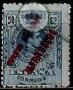 Serie de sellos Tánger español nº 008 (**)