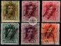 Serie de sellos Tánger español nº 017/22 (** y o)