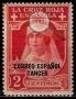 Serie de sellos Tánger español nº 024 (**)