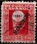 Serie de sellos Tánger español nº 077 (o)