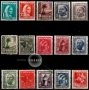Serie de sellos Tánger español nº 151/65 (**)