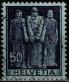 Serie de sellos Suiza nº 0358 (o)