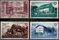 Serie de sellos Suiza nº 0477/80 (*)