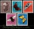 Serie de sellos Suiza nº 0502/06 (*)