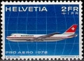 Serie de sellos Suiza Aéreo nº A 47 (**)