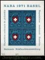 Serie de sellos Suiza Hoja Bloque nº 21 (**)