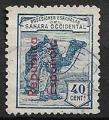 Serie de sellos Sahara español nº 007 (o)