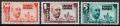 Serie de sellos Sahara español nº 088/90 (*)