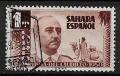 Serie de sellos Sahara español nº 089 (o)