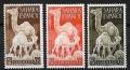 Serie de sellos Sahara español nº 091/3 (*)