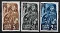 Serie de sellos Sahara español nº 094/6 (*)