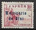 Serie de sellos Ifni nº 040 (**)