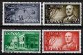 Serie de sellos Rio Muni nº 21/24 (**). (Oxido)