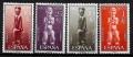 Serie de sellos Rio Muni nº 25/28 (**)