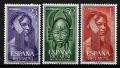 Serie de sellos Rio Muni nº 29/31 (**)