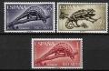 Serie de sellos Rio Muni nº 45/47 (**)