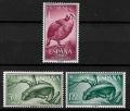 Serie de sellos Rio Muni nº 57/59 (**)