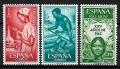 Serie de sellos Rio Muni nº 60/62 (**)