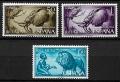 Serie de sellos Rio Muni nº 69/71 (**)