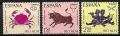 Serie de sellos Rio Muni nº 83/85 (**)