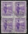 Serie de sellos Guinea Española nº 265 (o) BLOQUE 4