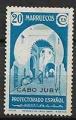 Serie de sellos Cabo Juby nº 114 (*)