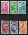 Serie de sellos Cabo Juby BENEFICIENCIA nº 001/6 (*)
