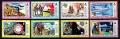 Serie de sellos Grenada ferrocarriles Nº 0531-38 (**)