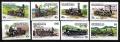 Serie de sellos Grenada ferrocarriles Nº 1197-04 (**)
