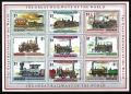 Serie de sellos Grenada ferrocarriles Nº 2125-33 (**)