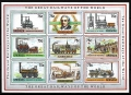 Serie de sellos Grenada ferrocarriles Nº 2050-58 (**)