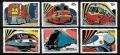 Serie de sellos Grenada Grenadines ferrocarriles Nº 0455-60 (**)