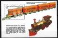 Serie de sellos Grenada Grenadines ferrocarriles Nº HB 258 (**)