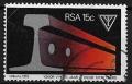 Serie de sellos Sudafrica ferrocarriles Nº 0444 (o)