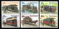 Serie de sellos Nueva Zelanda ferrocarriles Nº 0889-94 (**)