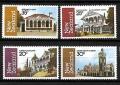 Serie de sellos Nueva Zelanda ferrocarriles Nº 0811-14 (**)