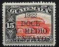 Serie de sellos  Guatemala ferrocarriles Nº 0183 (*)