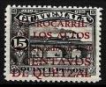 Serie de sellos  Guatemala ferrocarriles Nº 0254 (**)